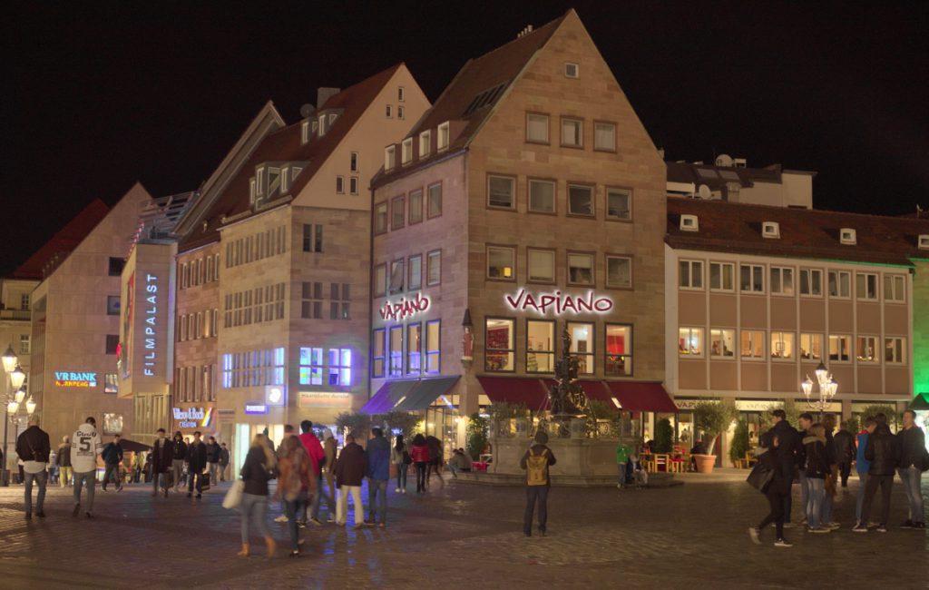 Walking in Nuremberg